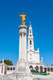 Statue of Jesus in Fatima Sanctuary Stock Image