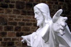 Statue of Jesus / God royalty free stock photo