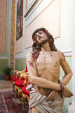 Statue of Jesus on Good Friday Royalty Free Stock Photos