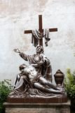 Statue of Jesus and Mary Royalty Free Stock Photography