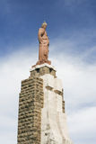 Statue of Jesus in Tarifa Stock Photo