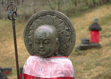 Statue of Jizo royalty free stock photography