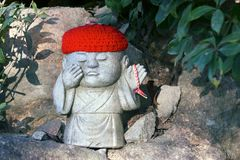 Statue of Jizo, Japan Stock Photos