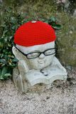 Statue of Jizo, Japan royalty free stock images