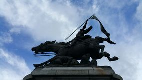 Statue of Joan of Arc Royalty Free Stock Photography
