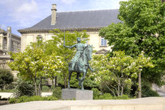 Statue of Joan of Arc Stock Images