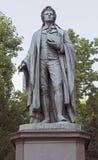 Statue of Johann Christoph Friedrich von Schiller Stock Photos
