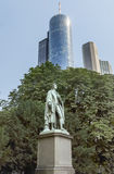 Statue of Johann Christoph Friedrich von Schiller Stock Images