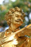 The Statue of Johann Strauss Royalty Free Stock Images