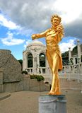 The Statue of Johann Strauss. In stadtpark in Vienna, Austria Stock Image