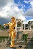 The Statue of Johann Strauss Royalty Free Stock Image