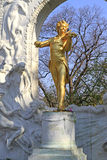 Statue of Johann Strauss Royalty Free Stock Images