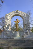 Statue of Johann Strauss Royalty Free Stock Photography
