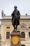 Statue of Johann Wolfgang Goethe. Royalty Free Stock Photography