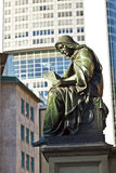 Statue of Johannes Gutenberg, Royalty Free Stock Image