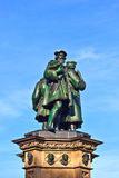 Statue of Johannes Gutenberg, inven Stock Photography