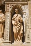 Statue of John the Apostle at the Saint Thomas Church of Haro, L Stock Photography