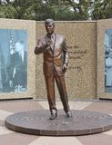 JFK, Statue of John Fitzgerald Kennedy Stock Photo
