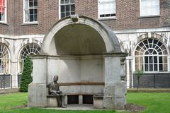 Statue of John Keats Stock Photo