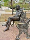 Statue John-Lennon lizenzfreies stockbild