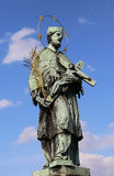 Statue of John of Nepomuk Stock Photography