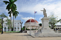 Statue of Jose Marti in Cienfuegos, Cuba Stock Photography