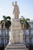 Statue of Jose Marti Havana Stock Photo