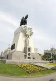 Statue jose san martin plaza  lima peru Stock Images
