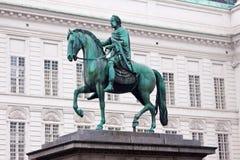 Statue of Josef, Vienna, Austria. Royalty Free Stock Photos