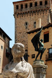 Statue of juan bravo, segovia, spain Stock Images