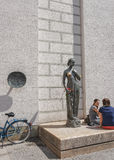 Statue of Juliet in Munich Royalty Free Stock Photos