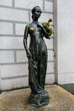 The statue of Juliet near the Old Town Hall in Munich Royalty Free Stock Photos