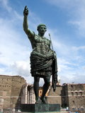 Statue of Julius Caesar Royalty Free Stock Photography