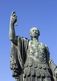 Statue of Julius Caesar that is near Trajan's Forum, Rome Stock Image