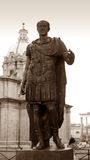 Statue of Julius Caesar in Rome, Italy Stock Image