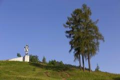 Statue of Juraj Janosik, legendary historical Hero, Terchova, Slovakia stock images