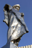 Statue of Juraj Janosik, legendary historical Hero, Terchova, Slovakia royalty free stock photo