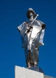 Statue of Juraj Janosik over village of Terchova, Low Fatra, Slovakia. Statue of Juraj Janosik, Terchova, Low Fatra, Slovakia royalty free stock photography