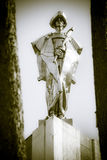 Statue of Juraj Janosik - slovak highwayman Royalty Free Stock Image