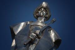 Statue of Juraj Janosik, Terchova, Slovakia. Statue of Juraj Janosik, Terchova, Slovak republic royalty free stock photo