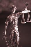 Statue juridique Themis de cabinet juridique Photographie stock