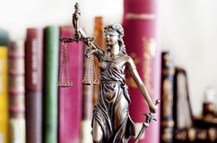 Statue of justice Royalty Free Stock Photo