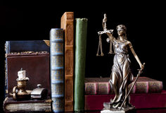Statue of justice royalty free stock photos