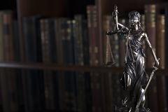 Law and justice concept - court library. royalty free stock images