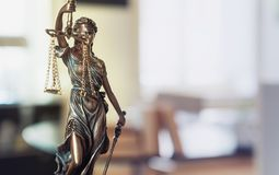 Lady Justice Statue Stock Photos