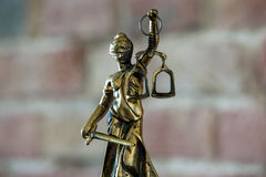 Statue of justice, Law concept,. Justice, blind temida, the concept of law stock photos