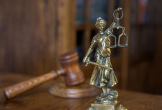 Statue of justice, Law concept, Royalty Free Stock Images