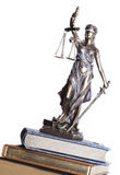 Statue of justice Stock Image