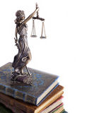 Statue of justice Stock Photography