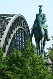 Statue in Köln lizenzfreie stockfotos